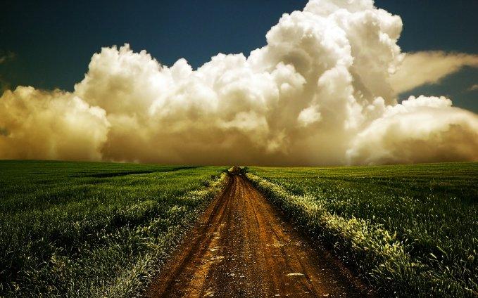 ws_Fields_Dirty_Road_&_Big_Clouds_1920x1200